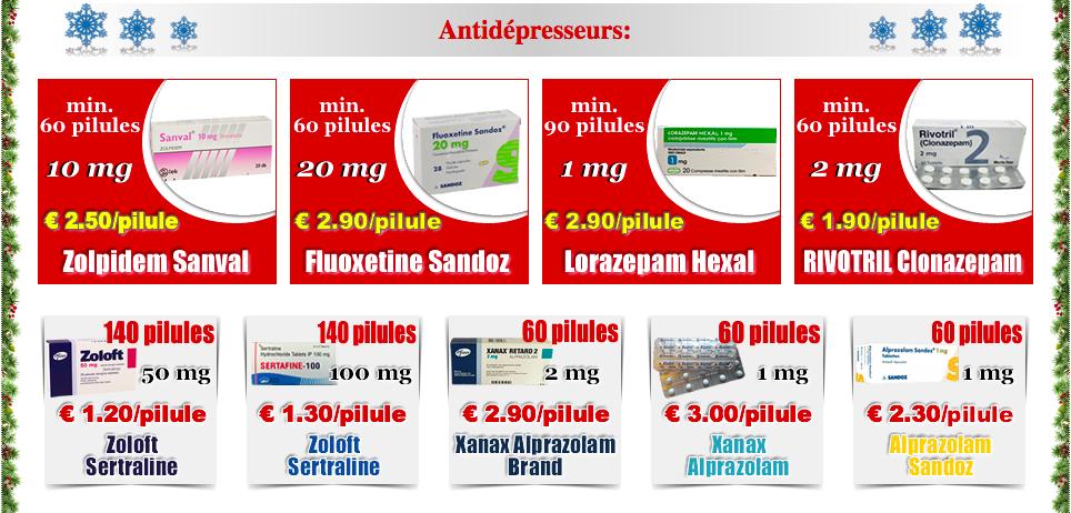 Acheter Fluoxetine en ligne